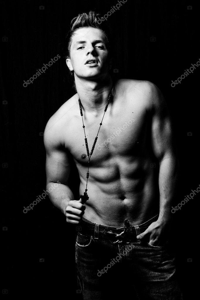 有魅力的男人 — 图库照片