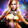 Royalty-Free Stock Photo: Beautiful DJ girl