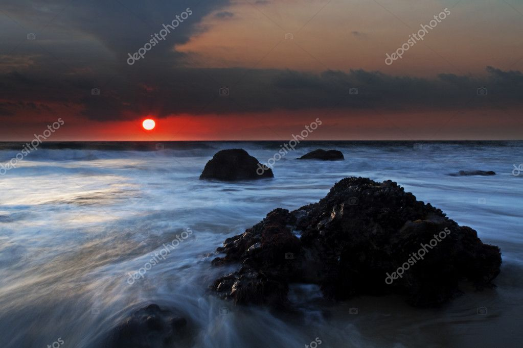 Tropical Sunset — Stock Photo #3173426