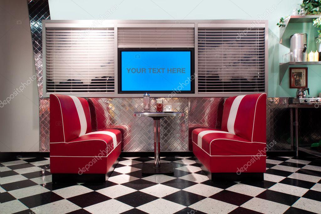 retro stil einrichtung stockfoto nelka7812 3173470. Black Bedroom Furniture Sets. Home Design Ideas