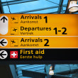 Stock Photo: Airport terminal sign
