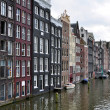 Stock Photo: Amsterdam buildings and canal
