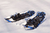 Snow rackets — Stock Photo