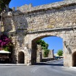 Stock Photo: Rhodes old town.