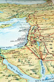 Middle East map. — Stock Photo