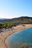 Vai beach, Crete — Stock Photo