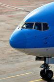 客运飞机 — 图库照片