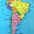 South America map — Stock Photo #2951763