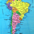 Royalty-Free Stock Photo: South America map