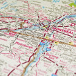 Montreal map, Quebec. — Stock Photo #2954738