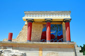 Archaeological site of Knossos. Crete. — Stock Photo