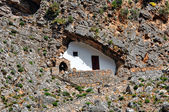 Small Greek chapel — Stock Photo