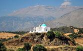 Greek chapel — Stock Photo
