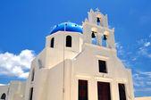 Chapel in Santorini Island — Stock Photo