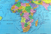 Africa map — Stock Photo