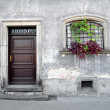 Stock Photo: Simple old house facade.