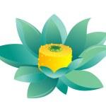 Blue lotus — Stock Photo #2947644