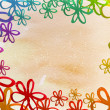 Watercolor flower background — 图库照片 #2967063