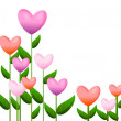 Heart plant — Stock Photo