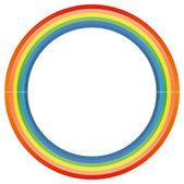 Rainbow circle — Stock Photo