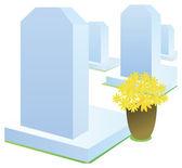 надгробная плита — Стоковое фото