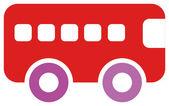Bus icon — Стоковое фото