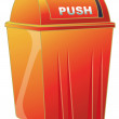 Dustbin — Stock Photo