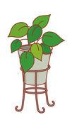 A pot of plants — Stock Photo