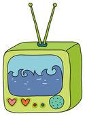 TV — Stock Photo