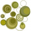 Green circle pattern — Stock Photo #3417879