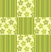 Green flower background — Stock Photo