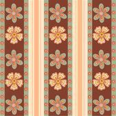 Flower pattern background — Stock Photo
