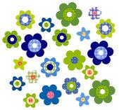 Flower pattern — Stock Photo