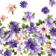 Purple flower - Stock Photo