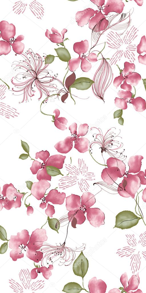 Purple flower — Stock Photo © realrocking #3424175