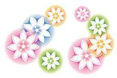 Patrón de flor — Foto de Stock