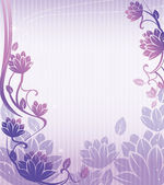 Purple lotus flower pattern — Stock Photo