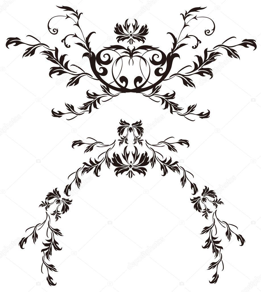 Flower Pattern Drawing Flower Pattern Photo by