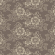 Seamless flower damask pattern - Stock fotografie