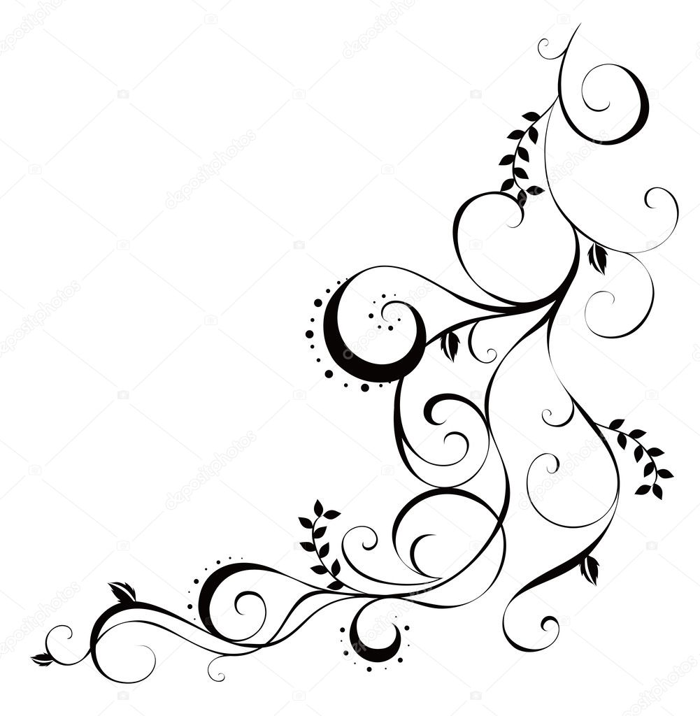 Vines And Leaves Pattern Stock Photo Realrocking 3465548
