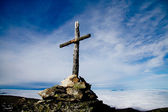 Beautiful saint mountain — Stock Photo