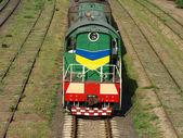 Locomotora. — Foto de Stock
