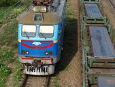 Locomotive. — Stock Photo