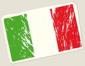Granica włoskiej flagi — Wektor stockowy