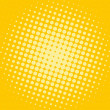 Stock Photo: Shiny halftone dotted background