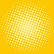 Shiny halftone dotted background - Stock Photo