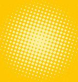 Shiny halftone dotted background — Stock Photo