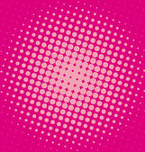 Pink halftone dotted background — Stock Photo