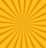 Summer sunburst — Stock Vector
