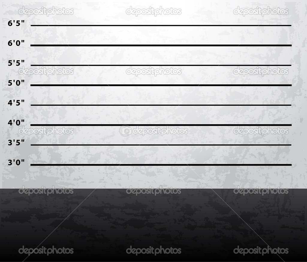 Mugshot prison background — Stock Vector #2928083